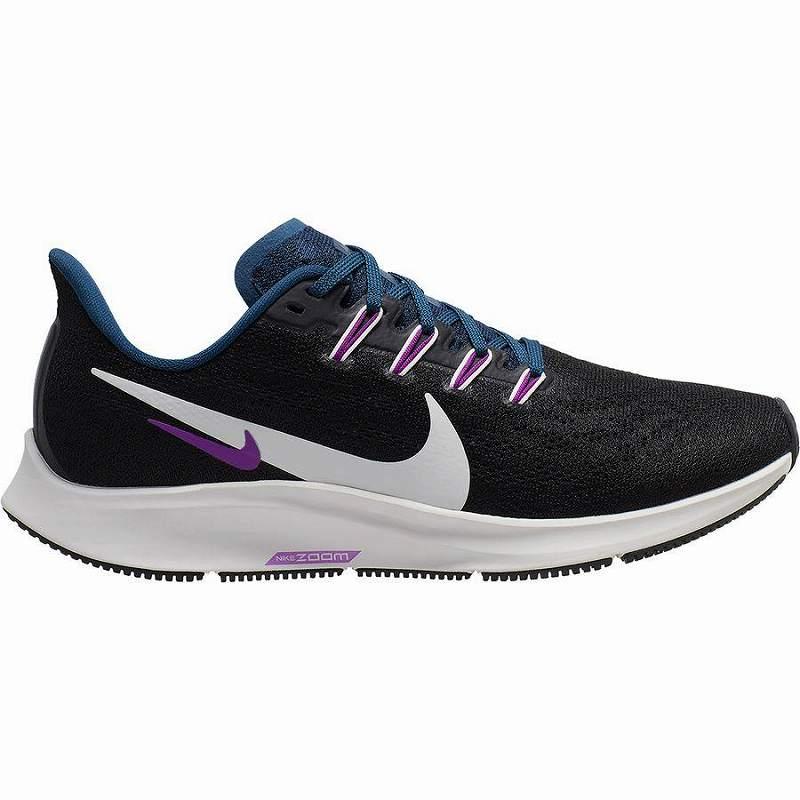 (取寄)ナイキ レディース エアー ズーム ペガサス 36 ランニング シューズ Nike Women Air Zoom Pegasus 36 Running Shoe Running Shoes Black/Summit White-Valerian Blue