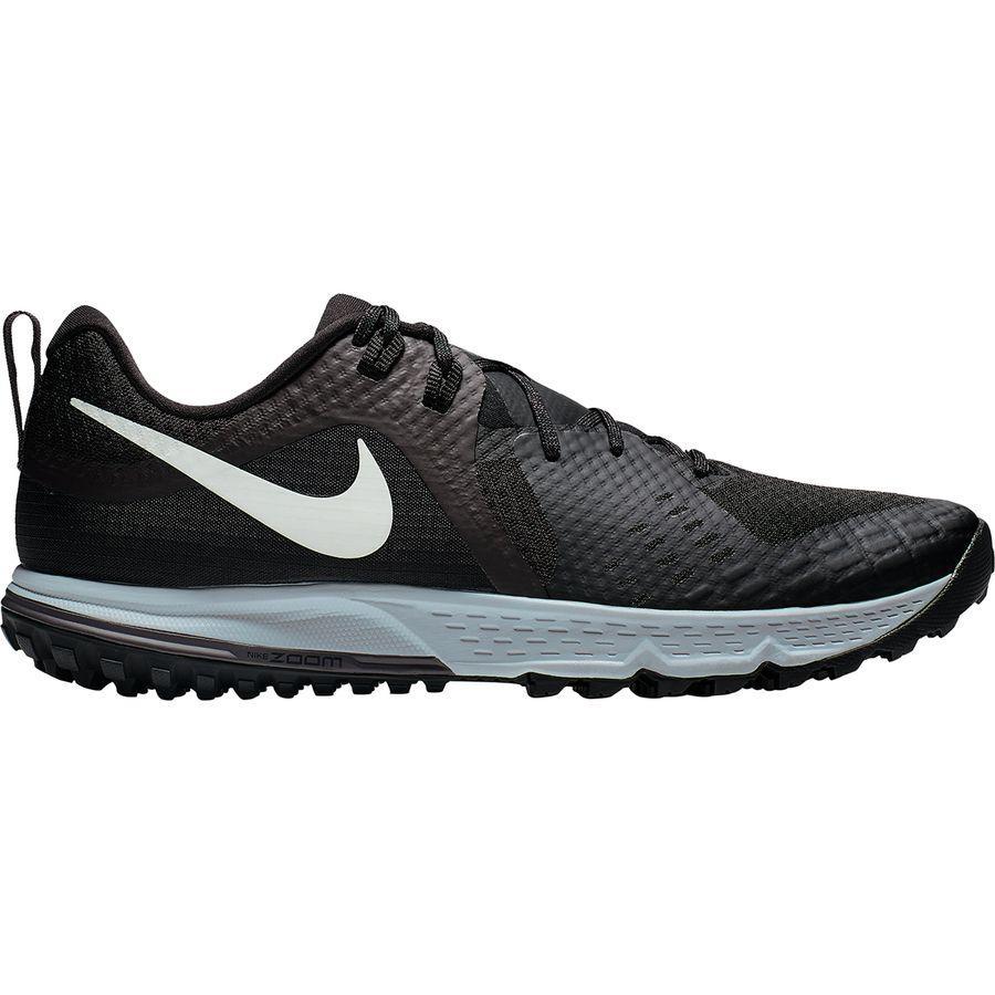 【クーポンで最大2000円OFF】(取寄)ナイキ メンズ エアー ズーム ワイルドホース 5トレイル ランニング シューズ Nike Men's Air Zoom Wildhorse 5 Trail Running Shoe Running Shoes Black/Barely Grey-thunder Grey-wolf Grey