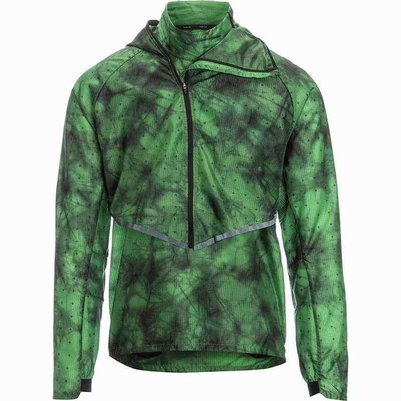 【クーポンで最大2000円OFF】(取寄)ナイキ メンズ テック PCK トランスフォーム HD ジャケット Nike Men's Tech PCK Transform HD Jacket Tomatillo/Reflective Black