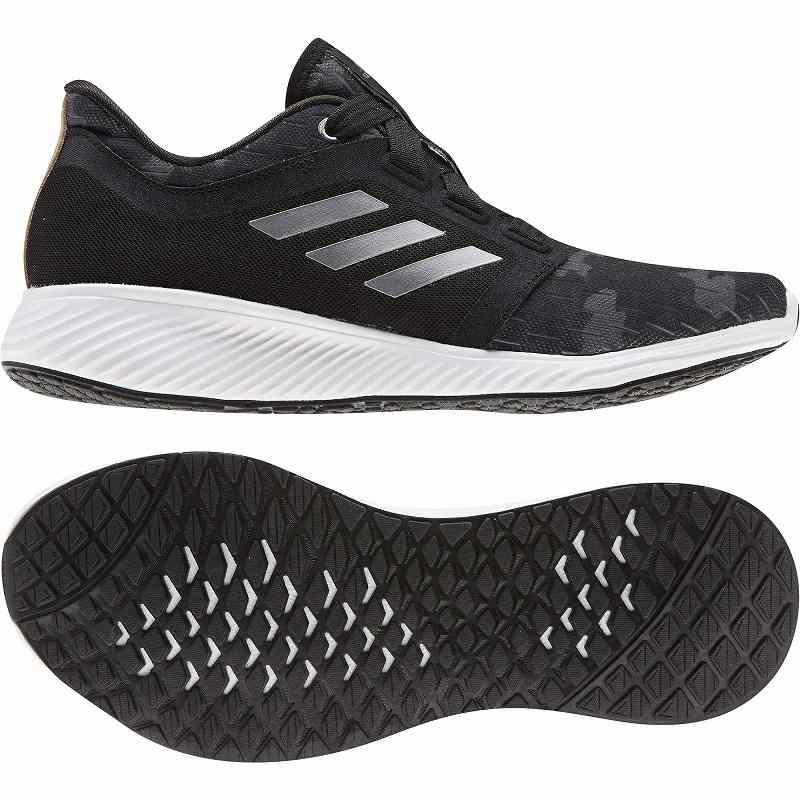 【クーポンで最大2000円OFF】(取寄)アディダス レディース エッジ ラックス 3 ランニングシューズ adidas Women Running Edge Lux 3 Core Black/Gold Metallic/Grey Six