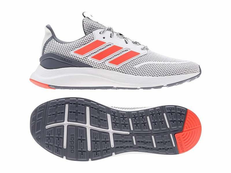 【クーポンで最大2000円OFF】(取寄)アディダス メンズ エナジーファルコン ランニングシューズ adidas Men's Running Energyfalcon Footwear White/Solar Red/Onix