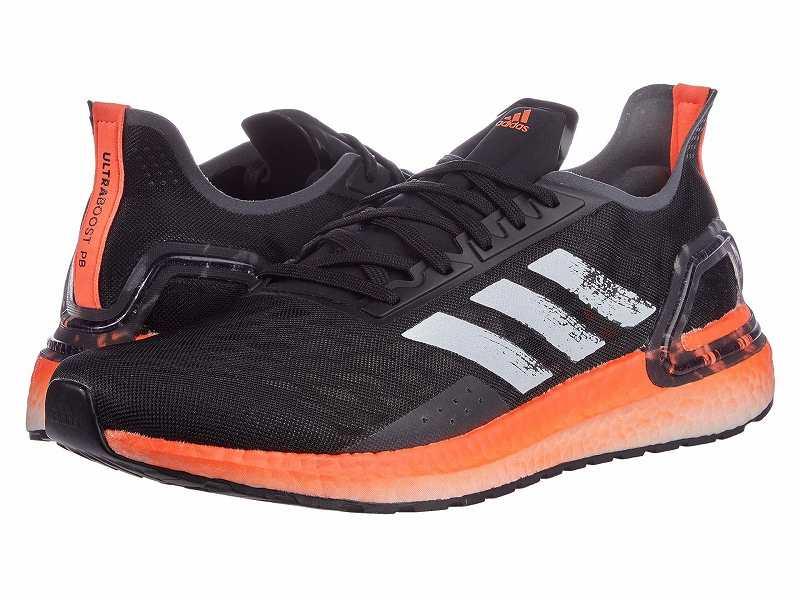 【クーポンで最大2000円OFF】(取寄)アディダス メンズ ランニング ウルトラブースト PB ランニングシューズ adidas Men's Running Ultraboost PB Black/White/Signal Coral