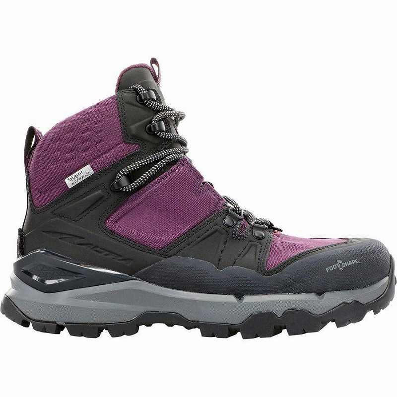 【クーポンで最大2000円OFF】(取寄)アルトラ レディース ターシャー ブーツ Altra Women Tushar Boot Black/Purple