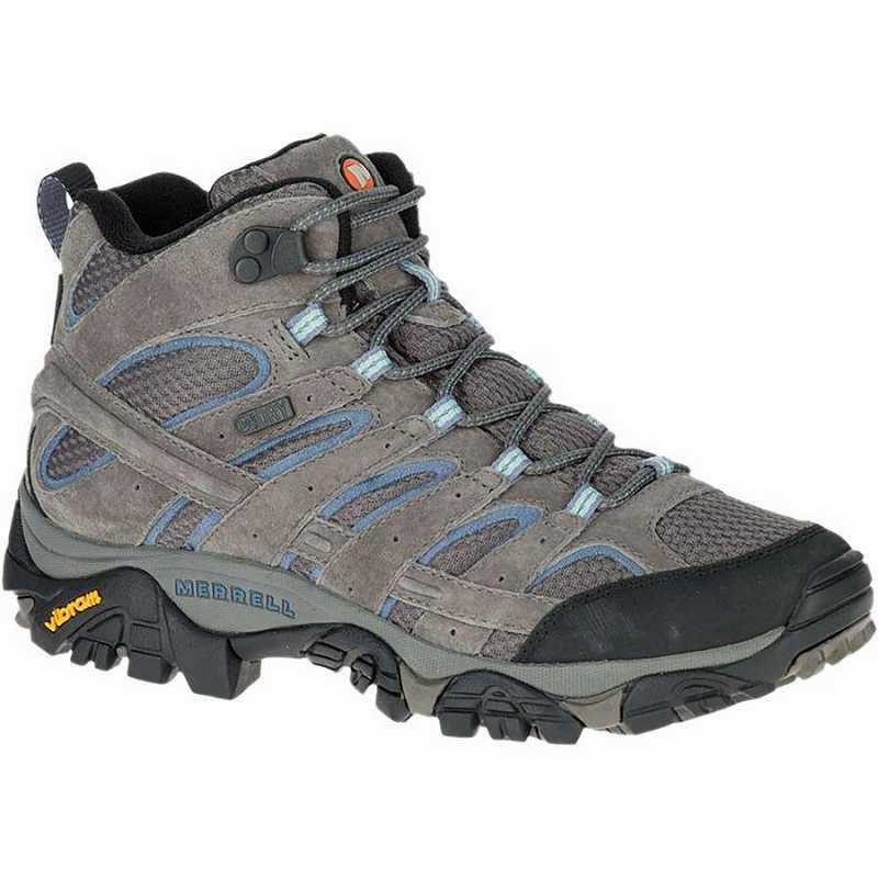 【クーポンで最大2000円OFF】(取寄)メレル レディース モアブ 2 ミッド ワイド ハイキング ブーツ Merrell Women Moab 2 Mid Wide Hiking Boot Granite