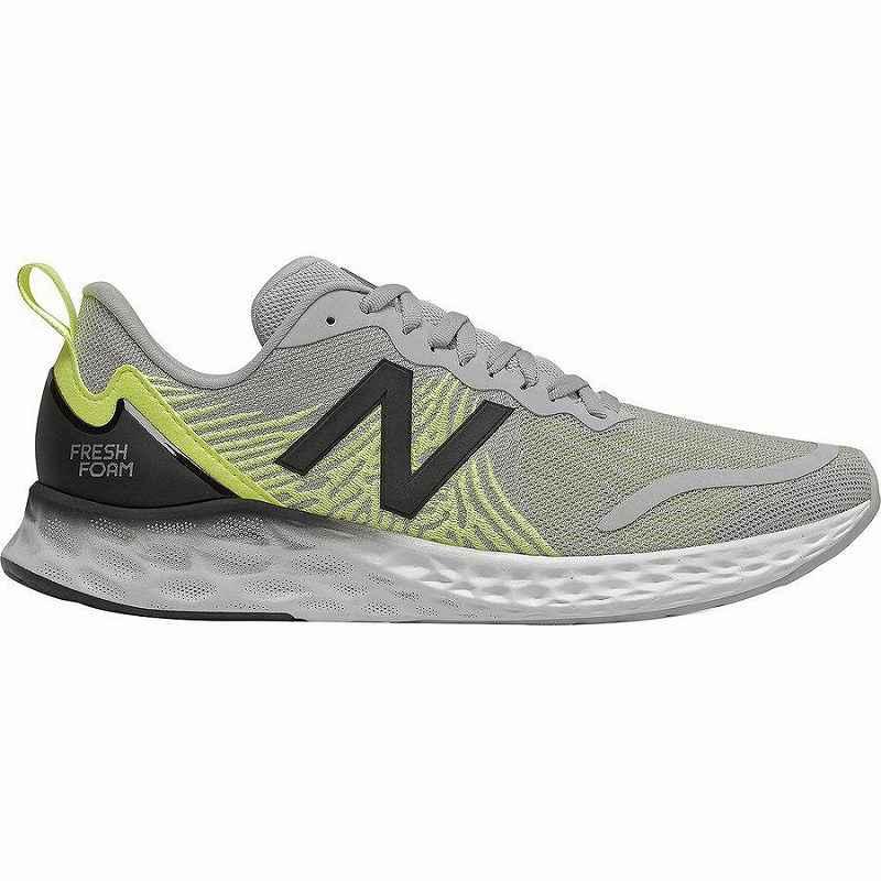 【クーポンで最大2000円OFF】(取寄)ニューバランス メンズ フレッシュ フォーム テンポ ランニング シューズ New Balance Men's Fresh Foam Tempo Running Shoe Running Shoes Rain Cloud/Lemon Slush