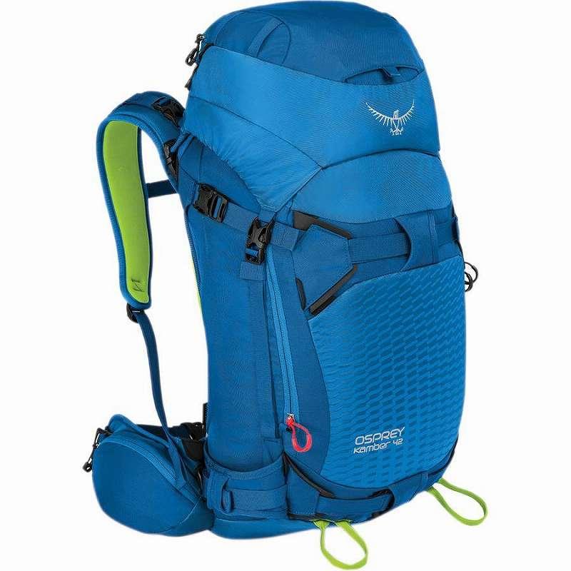 【クーポンで最大2000円OFF】(取寄)オスプレー ユニセックス キャンバー 42L バックパック Osprey Packs Men's Kamber 42L Backpack Cold Blue