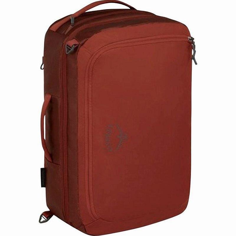 (取寄)オスプレー ユニセックス トランスポーター グローバル キャリー オン 36L パック Osprey Packs Men's Transporter Global Carry On 36L Pack Ruffian Red