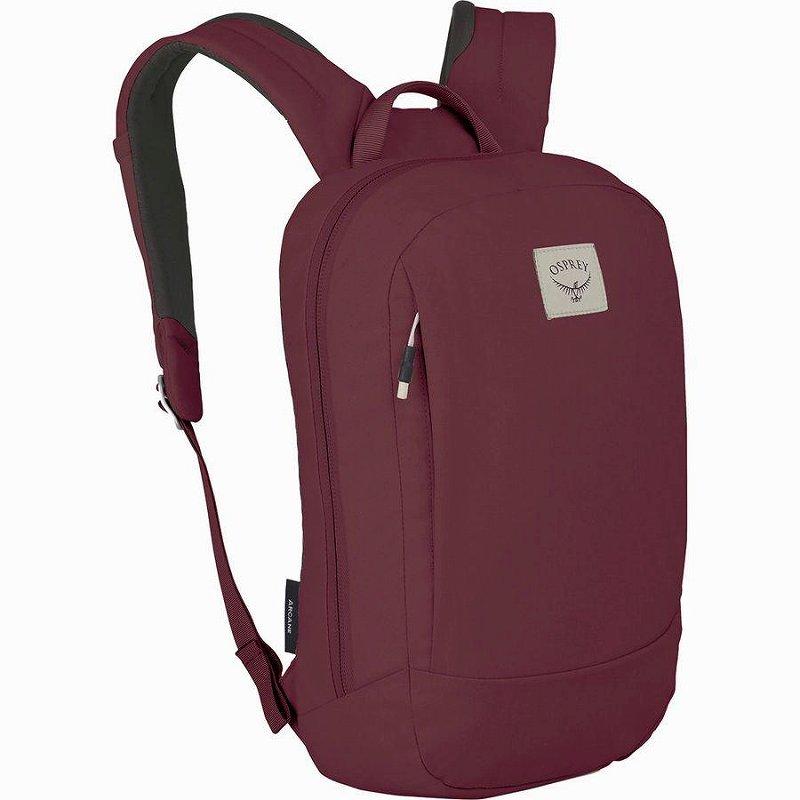 (取寄)オスプレー ユニセックス  アーケイン スモール デイパック Osprey Packs Men's Arcane Small Daypack Mud Red