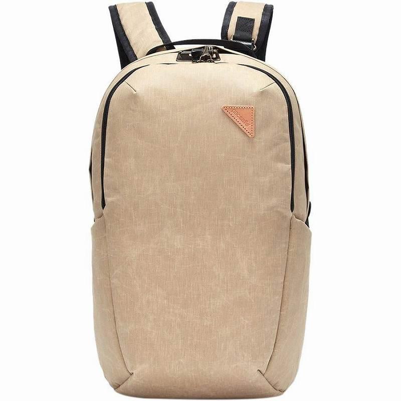 (取寄)パックセーフ ヴァイブ 25L バックパック リュック バッグ Pacsafe Men's Vibe 25L Backpack Coyote