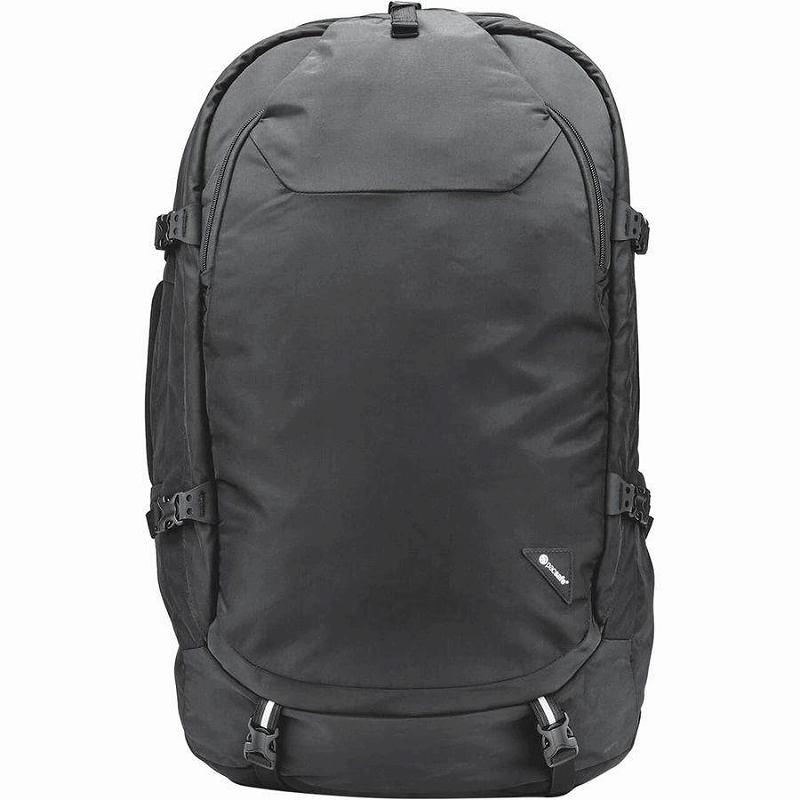 (取寄)パックセーフ ユニセックス ベンチャーセーフ EXP55 55Lトラベル パック Pacsafe Men's Venturesafe EXP55 55L Travel Pack Black