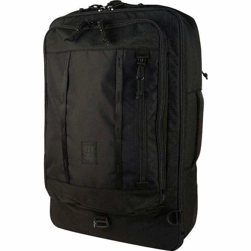 (取寄)トポデザイン ユニセックス トラベル 30L バッグ Topo Designs Men's Travel 30L Bag Ballistic Black