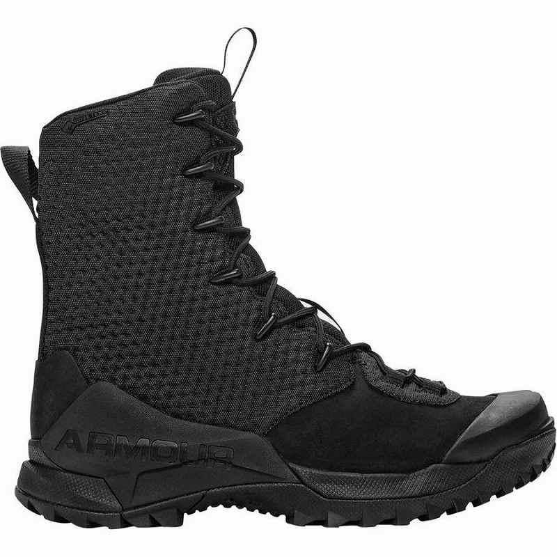 【クーポンで最大2000円OFF】(取寄)アンダーアーマー メンズ Infil オプス Gtx ハイキング ブーツ Under Armour Men's Infil Ops GTX Hike Boot Black/Black/Black