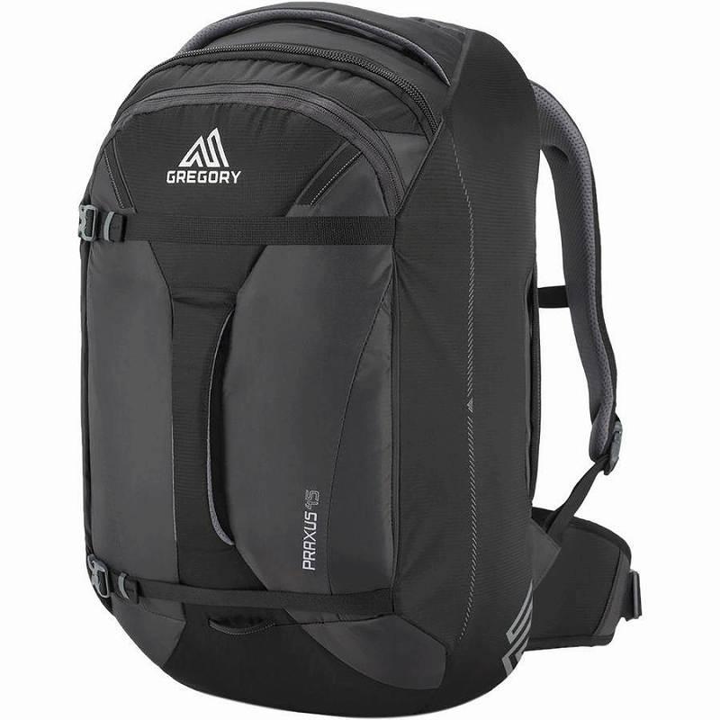 (取寄)グレゴリー プラクサス 45L バックパック リュック バッグ Gregory Men's Praxus 45L Backpack Pixel Black