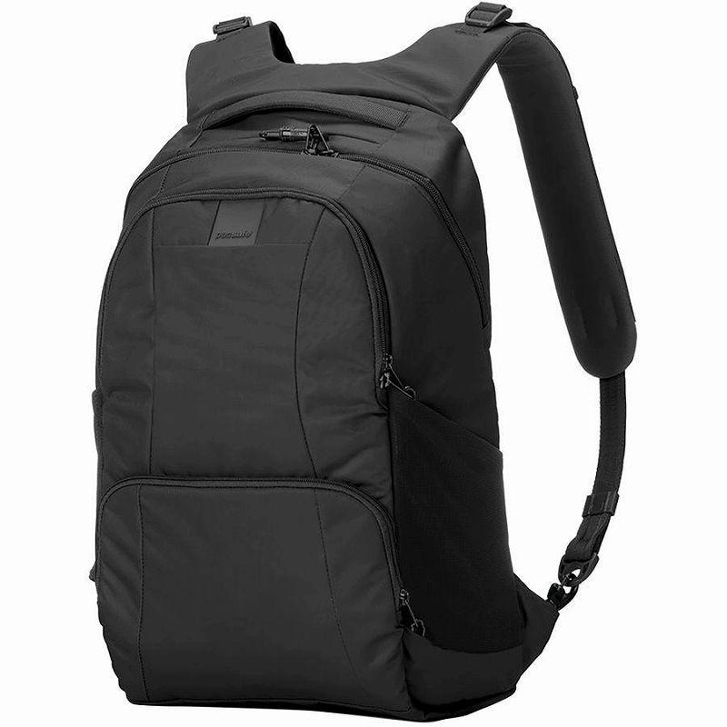 (取寄)パックセーフ メトロセーフ LS450 25L バックパック リュック バッグ Pacsafe Men's Metrosafe LS450 25L Backpack Black