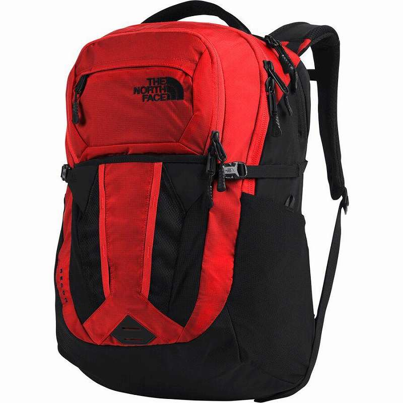 (取寄)ノースフェイス レディース リーコン 30L バックパック リュック バッグ The North Face Women Recon 30L Backpack Fiery Red Ripstop/Tnf Black