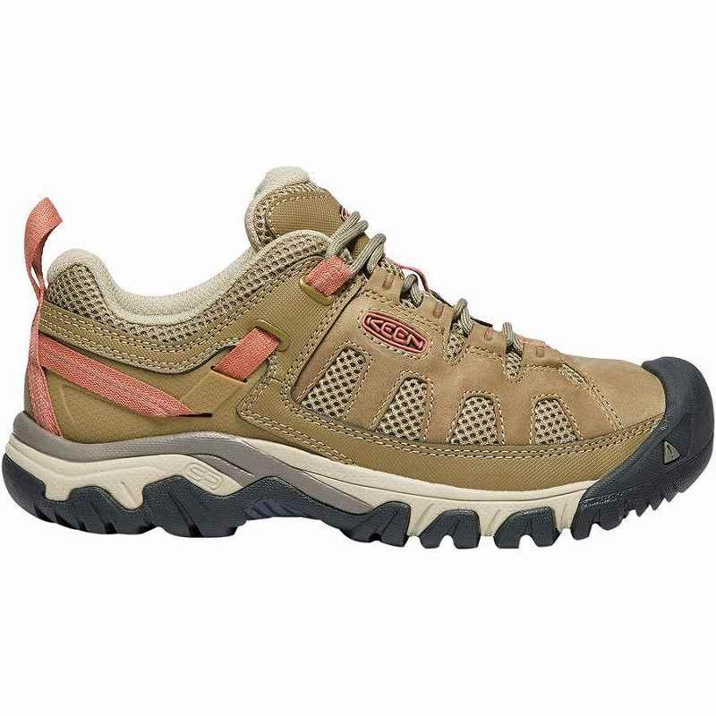 ハイキング シューズ 期間限定の激安セール トレイルランニング 登山靴 レディース 大きいサイズ 取寄 キーン ターギー Cornstalk 超美品再入荷品質至上 Women KEEN Targhee Vent Sandy Hiking Shoe ベント