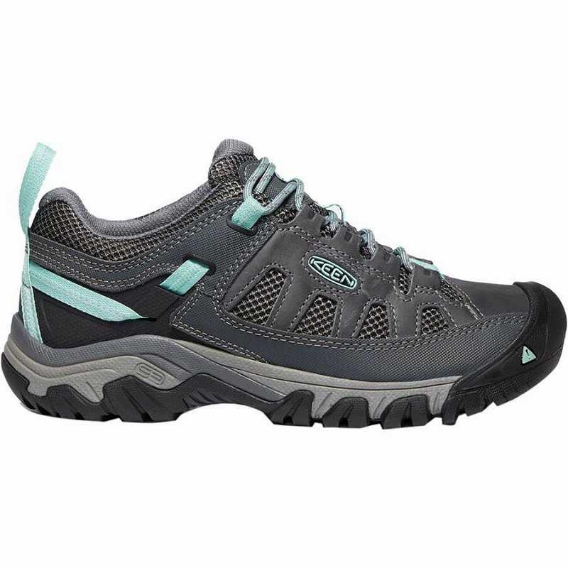 ハイキング シューズ トレイルランニング 登山靴 レディース 大きいサイズ 取寄 キーン ターギー ベント サービス Shoe 注目ブランド Hiking Steel Vent Women Ocean KEEN Wave Grey Targhee