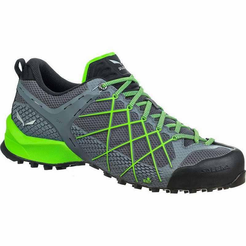 スニーカー シューズ 靴 ファッション ブランド 人気の製品 ストリート メンズ 大きいサイズ 取寄 サレワ Wildfire Salewa Green Men's 2020モデル ワイルドファイア ハイキング Fluo Flintstone Shoe Hiking