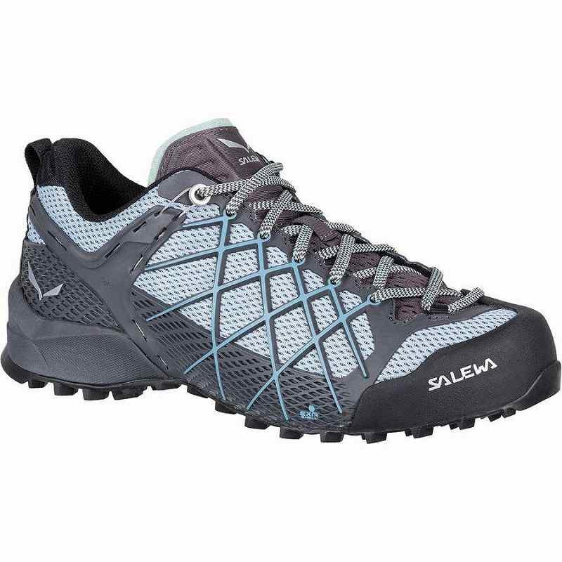 ハイキング シューズ ギフト 限定特価 トレイルランニング 登山靴 レディース 大きいサイズ 取寄 サレワ ワイルドファイア Shoe Magnet Salewa Fog Blue Women Hiking Wildfire