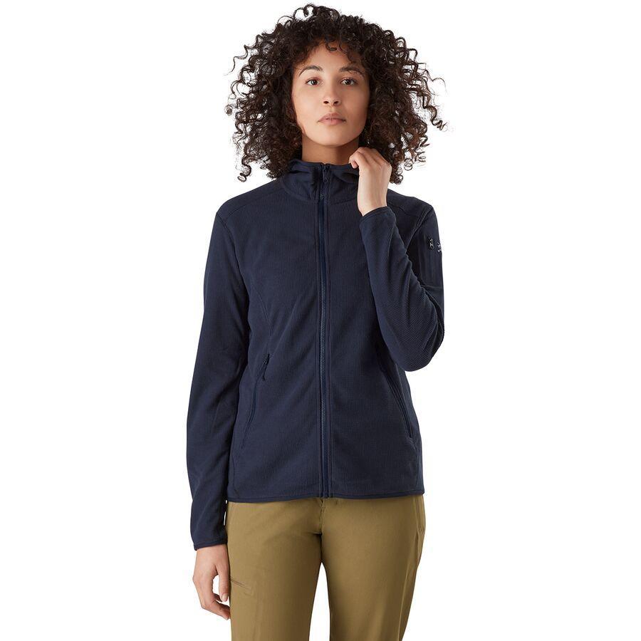 (取寄)アークテリクス レディース デルタ LT フーデッド フリース ジャケット Arc'teryx Women Arc'teryx Delta LT Hooded Fleece Jacket Cobalt Moon