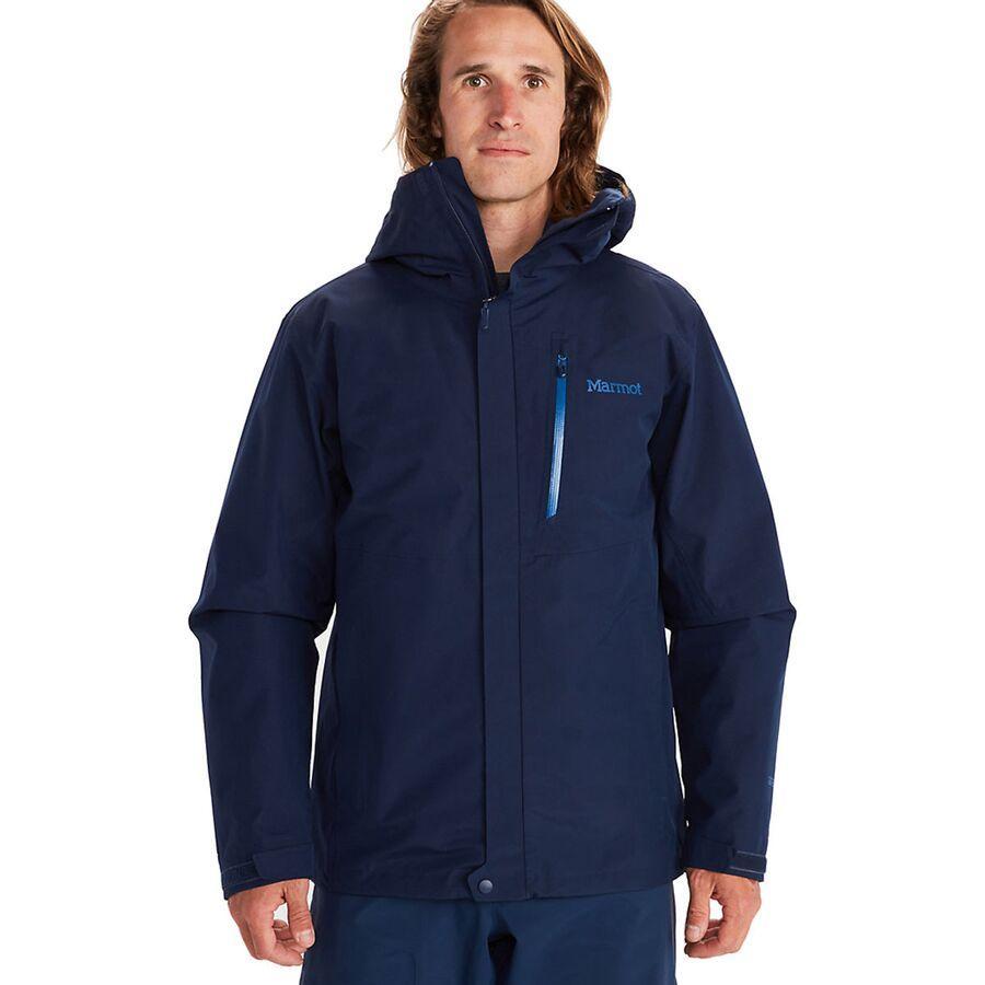 ハイキング 登山 トレッキング 山登り アウトドア カジュアル ジャケット アウター テレビで話題 ウェア メンズ 男性用 取寄 Marmot コンポーネント 休日 Steel マーモット Navy Onyx Arctic ミニマリスト Men's Component Jacket