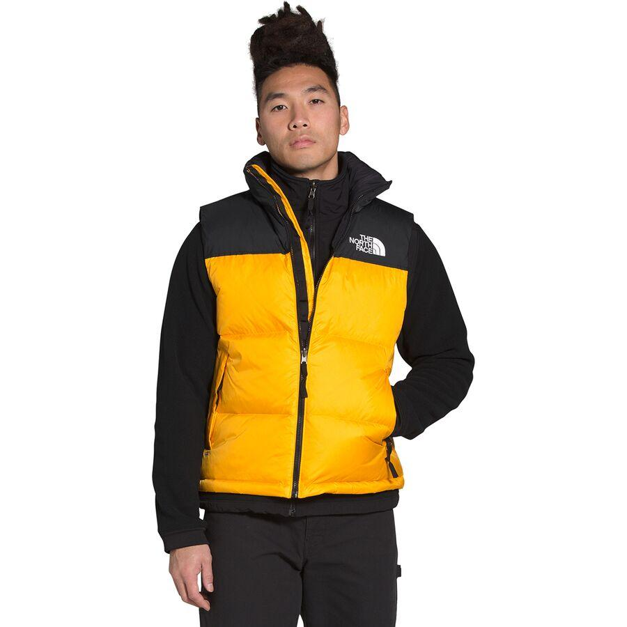 ハイキング 登山 マウンテン アウトドア ウェア アウター 海外並行輸入正規品 大きいサイズ ビッグサイズ 取寄 ノースフェイス ダウンベストメンズ 1996レトロ Gold Nuptse 定番キャンバス Men's Retro ベスト ヌプシ North The Summit Face Vest 1996