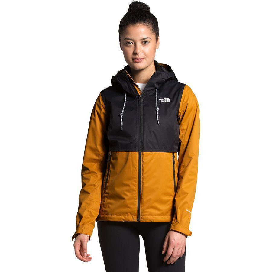 (取寄)ノースフェイス レディース アロウッド トリクラメイト フーデッド 3-In-1 ジャケット The North Face Women Arrowood Triclimate Hooded 3-In-1 Jacket Citrine Yellow/TNF Black