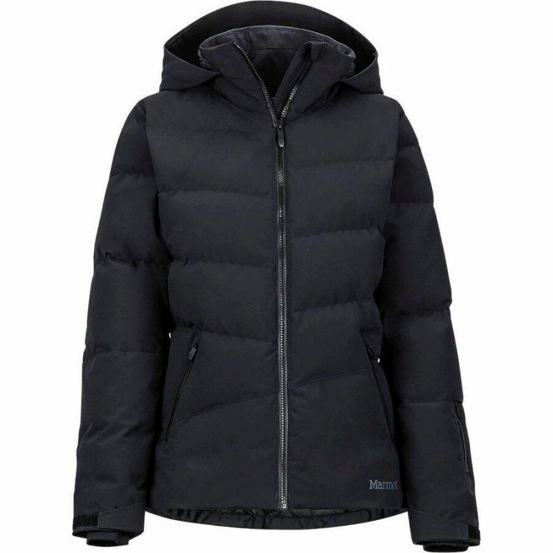(取寄)マーモット レディース スリングショット ダウン ジャケット Marmot Women Slingshot Down Jacket Black