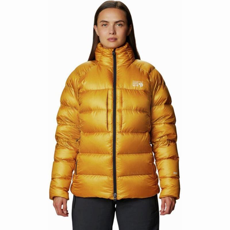 (取寄)マウンテンハードウェア レディース ファントム ダウン ジャケット Mountain Hardwear Women Phantom Down Jacket Gold Hour