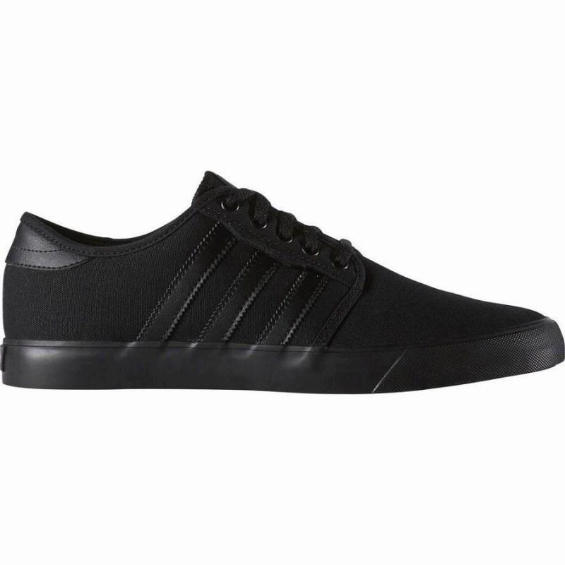 <title>スニーカー シューズ 靴 35%OFF スケートシューズ ストリート ファッション メンズ 大きいサイズ 取寄 アディダス シーリー スケート Adidas Men's Seeley Skate Shoe Black</title>