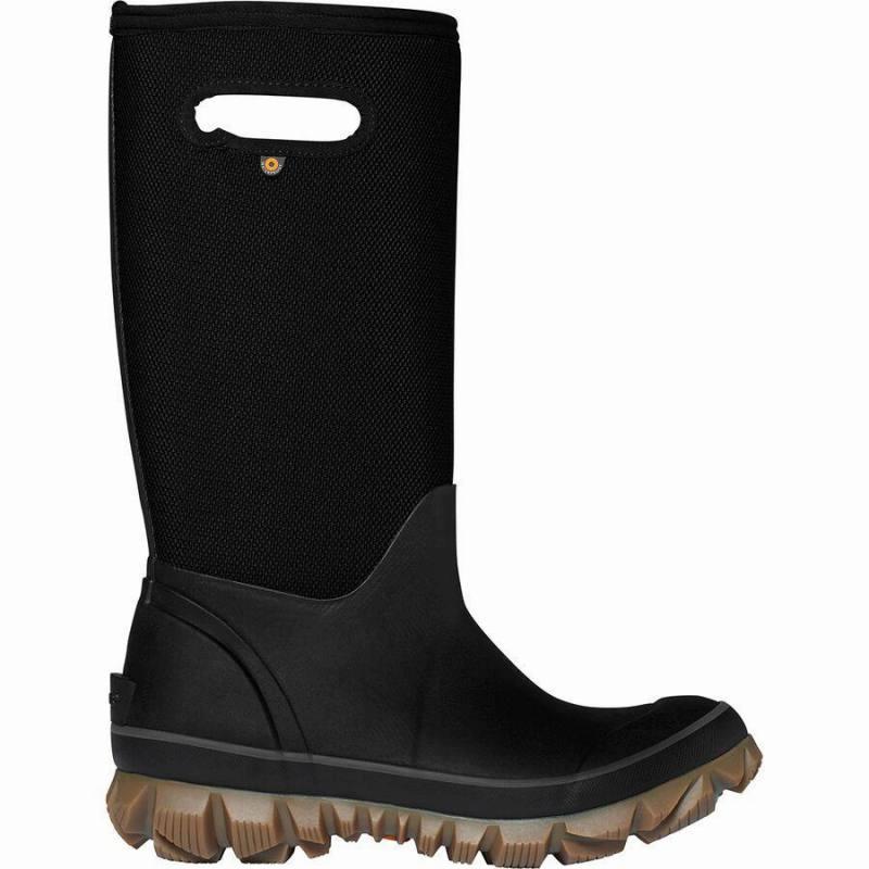 (取寄)ボグス レディース ホワイトアウト ウーヴン ブーツ Bogs Women Whiteout Woven Boot Black