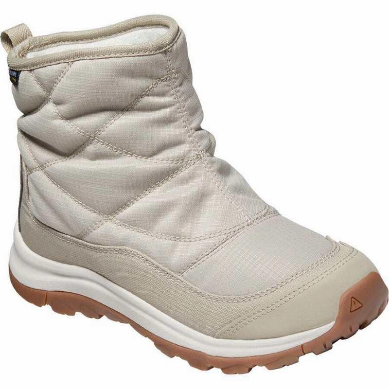(取寄)キーン レディース テラドーラ 2 アンクル Pull-OnWP ブーツ KEEN Women Terradora II Ankle Pull-On WP Boot Plaza Taupe/Silver Birch