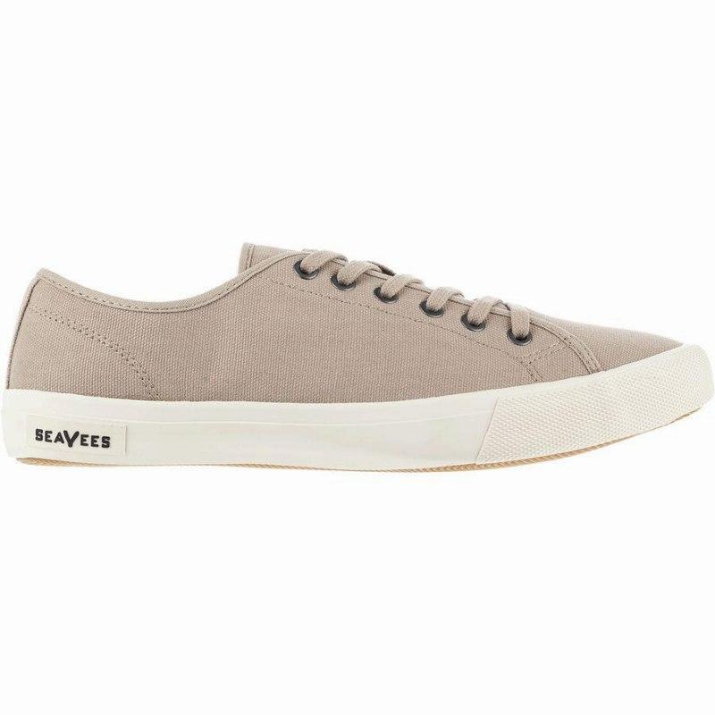 スニーカー シューズ 即納最大半額 靴 ファッション ブランド ストリート メンズ 大きいサイズ 取寄 シービーズ Grey スタンダード SeaVees Canvas Men's Monterey Khaki モントレー Sneaker 登場大人気アイテム Standard