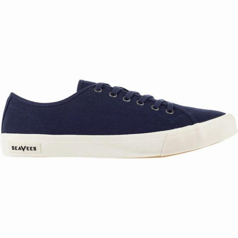 スニーカー シューズ 靴 人気ブランド多数対象 ファッション ブランド ストリート 国内正規品 メンズ 大きいサイズ 取寄 シービーズ Monterey Navy SeaVees スタンダード Men's Sneaker Canvas Standard モントレー