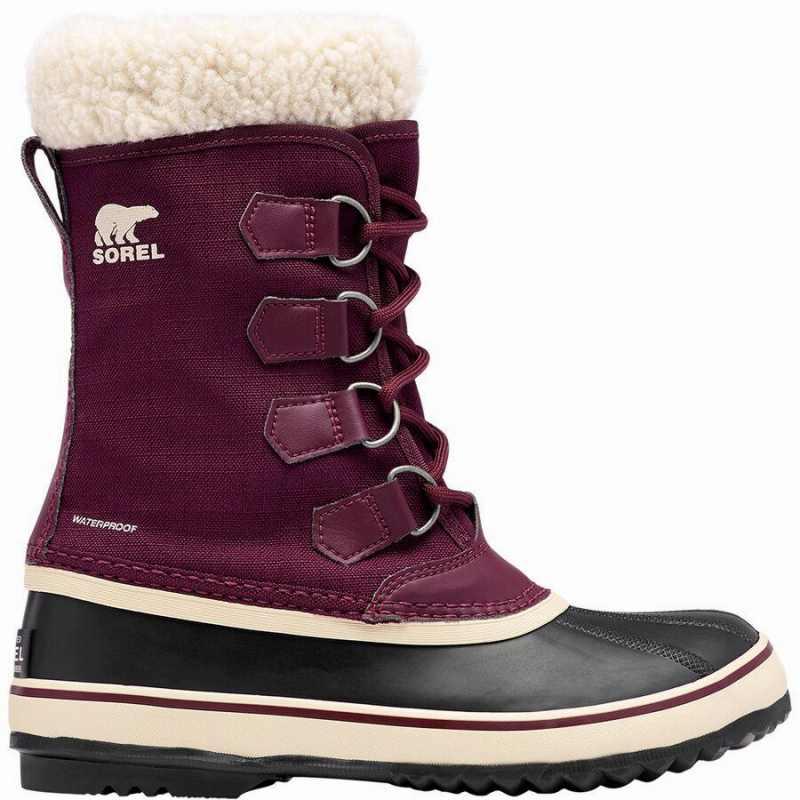 (取寄)ソレル レディース ウィンター カーニバル ブーツ Sorel Women Winter Carnival Boot Epic Plum