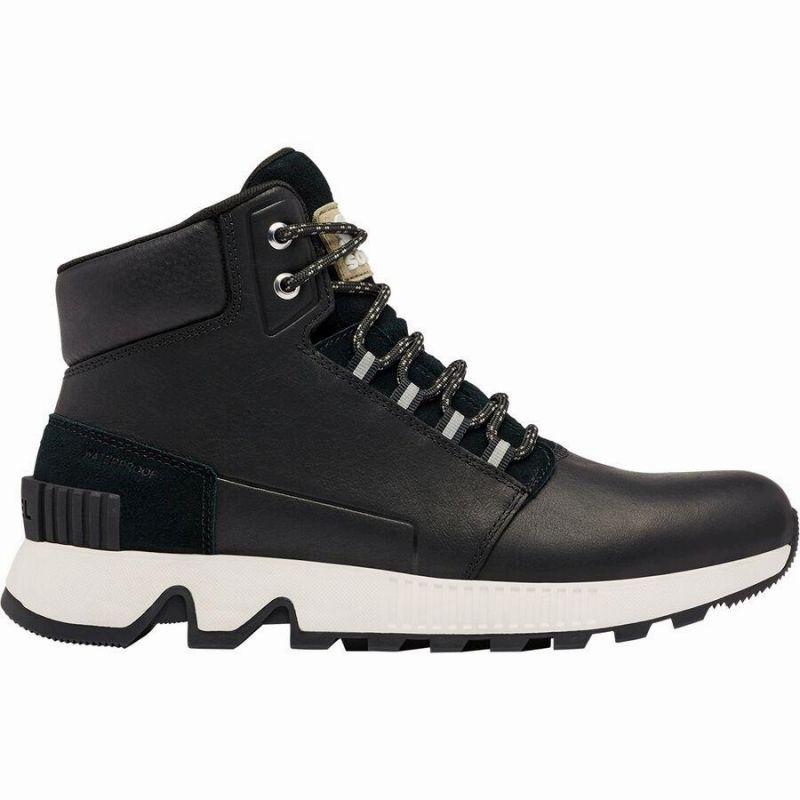 (取寄)ソレル メンズ マック ヒル ミッド LTR WP ブーツ Sorel Men's Mac Hill Mid LTR WP Boot Black