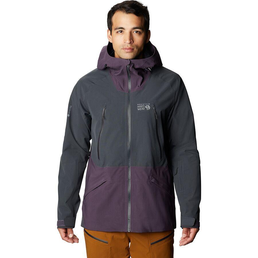 ハイキング 登山 トレッキング 山登り アウトドア カジュアル ジャケット アウター 70%OFFアウトレット ウェア メンズ 男性用 取寄 最新アイテム Jacket Ridge Sky スカイ Mountain Blurple Hardwear マウンテンハードウェア Gore-Tex Men's リッジ
