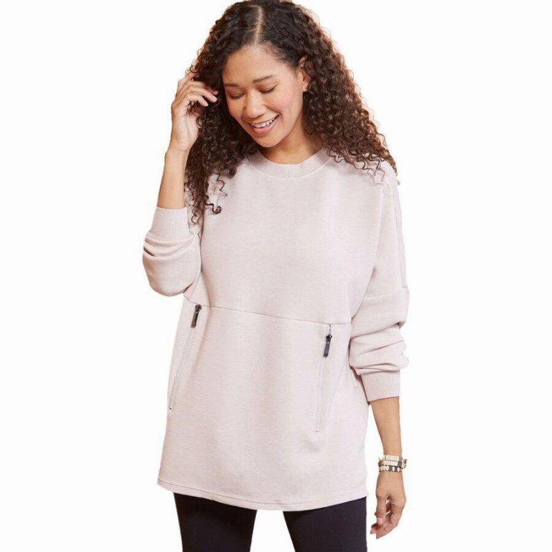 ファッション ブランド カジュアル ストリート アウトドア トレーナー トップス スウェットシャツ レディース 大きいサイズ Sweatshirt 取寄 バーリー 新商品 Marl 大人気 Bayliss Varley Women Violete Hushed ベイリス