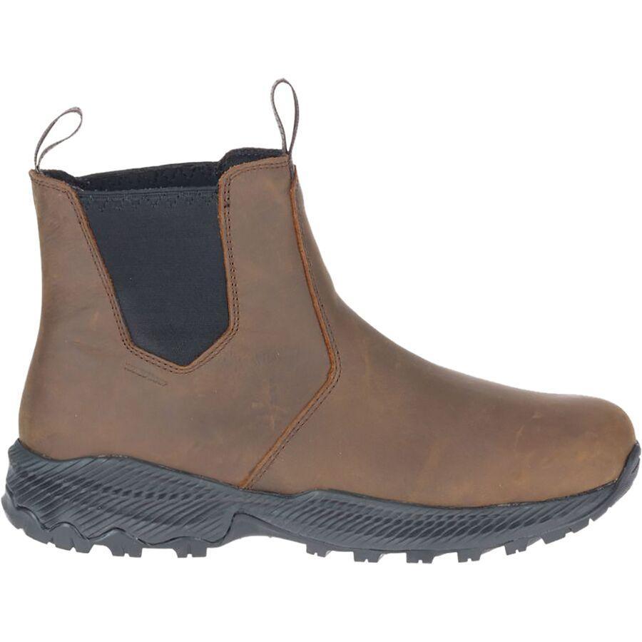 (取寄)メレル メンズ フォレストバウンド チェルシー ブーツ Merrell Men's Forestbound Chelsea Boot Clay 送料無料