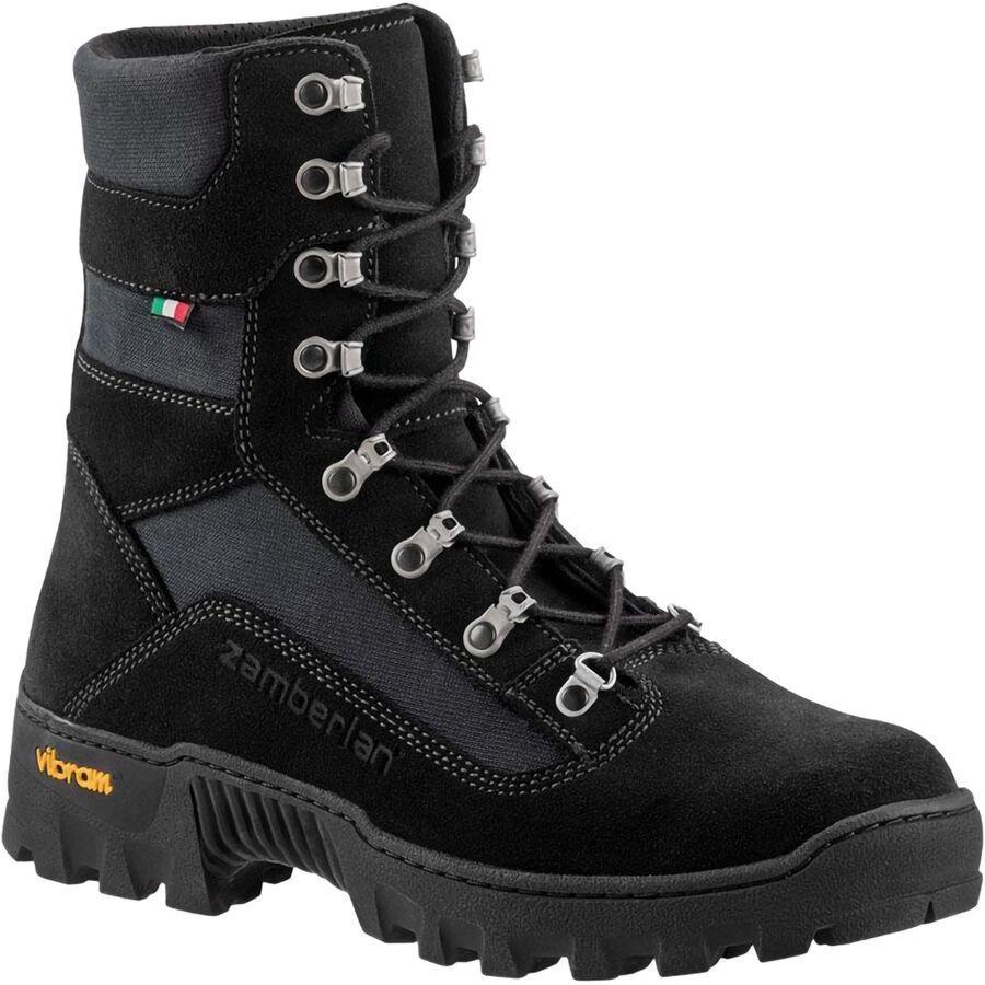 トレッキング クライミング アウトドア 登山靴 メンズ シューズ 新品 送料無料 ブーツ 大きいサイズ 取寄 ザンバラン エクスティングウィシャ Zamberlan 2 Extinguisher II 訳あり WLF Black Men's Boot
