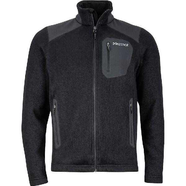 (取寄)マーモット メンズ ランゲル フリース ジャケット Marmot Men's Wrangell Fleece Jacket Black