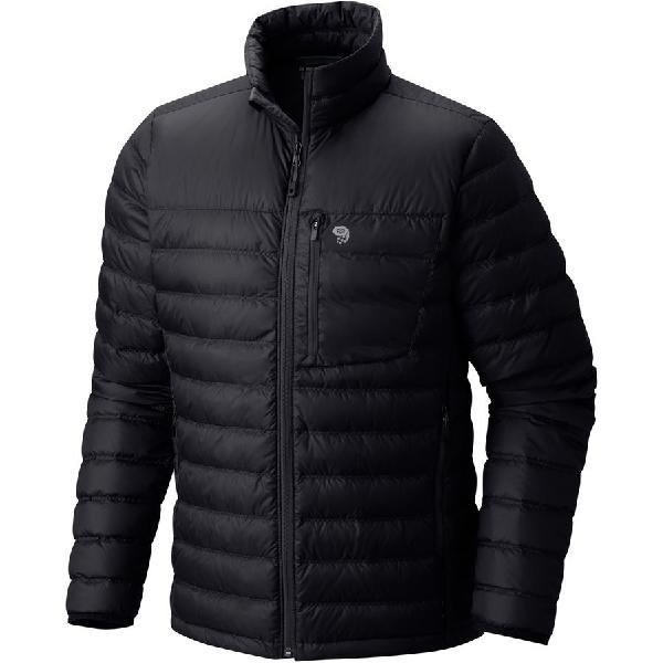 (取寄)マウンテンハードウェア メンズ ダイノサーム ダウン ジャケット Mountain Hardwear Men's Dynotherm Down Jacket Black