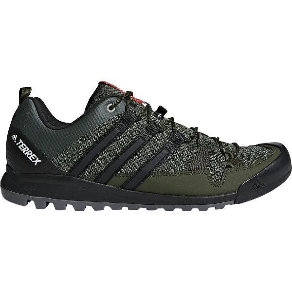 (取寄)アディダス メンズ アウトドア テレックス ソロ アプローチ シューズ Adidas Men's Outdoor Terrex Solo Approach Shoe Night Cargo/Black/Base Green