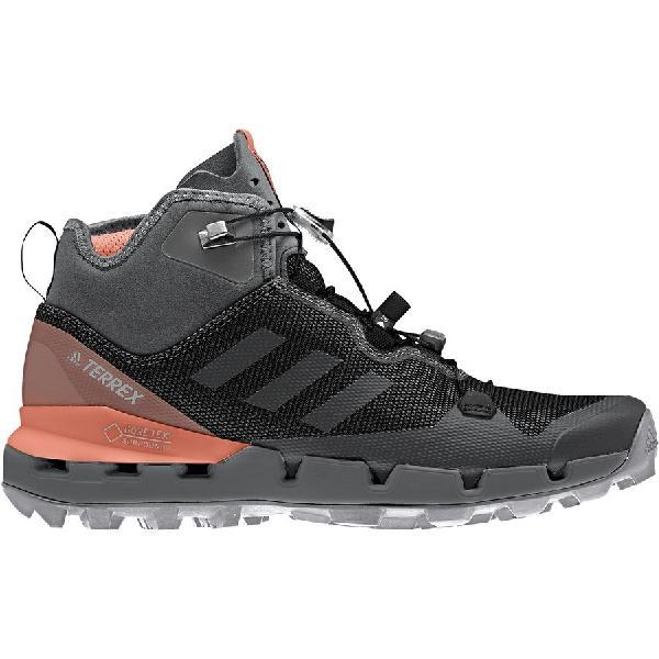 (取寄)アディダス レディース アウトドア テレックス ファスト GTX-Surround ハイキング ブーツ Adidas Women Outdoor Terrex Fast GTX-Surround Hiking Boot Black/Grey Five/Chalk Coral