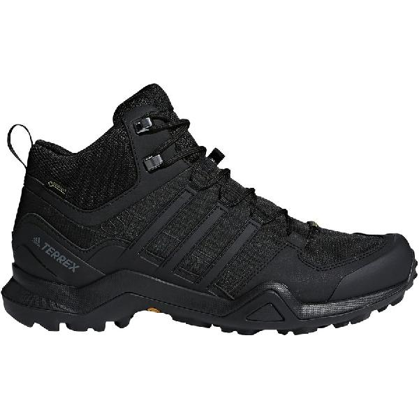 6a04ba6276ca (order) Adidas men outdoor telex Swift R2 mid Gtx hiking shoes Adidas Men s  Outdoor Terrex Swift R2 Mid GTX Hiking Shoe Black Black Black