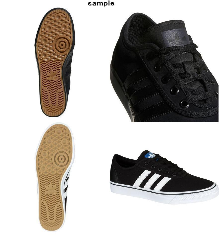 996faaf6927 (order) Adidas men Adi-Ease skating shoes Adidas Men s Adi-Ease Skate Shoe  Black White Black