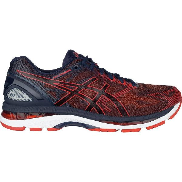 (取寄)アシックス メンズ Gel-Nimbus19 ランニングシューズ Asics Men's Gel-Nimbus 19 Running Shoe Peacoat/Red Clay/Peacoat