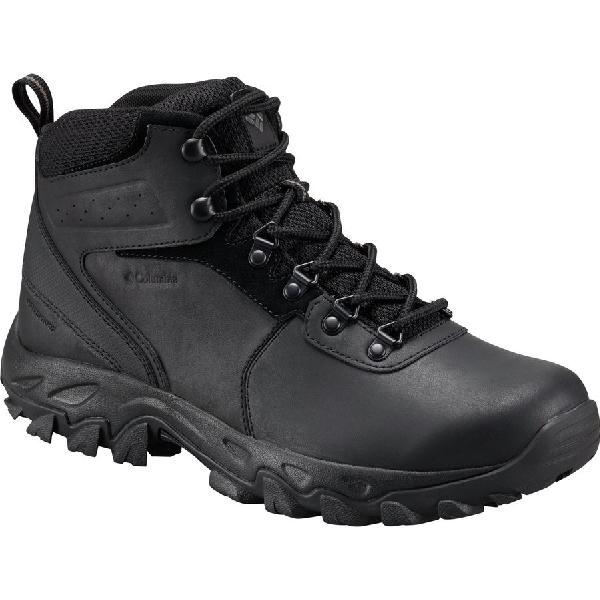 (取寄)コロンビア メンズ ニュートン リッジ プラス 2 ハイキング ブーツ Columbia Men's Newton Ridge Plus II Hiking Boot Black/Black