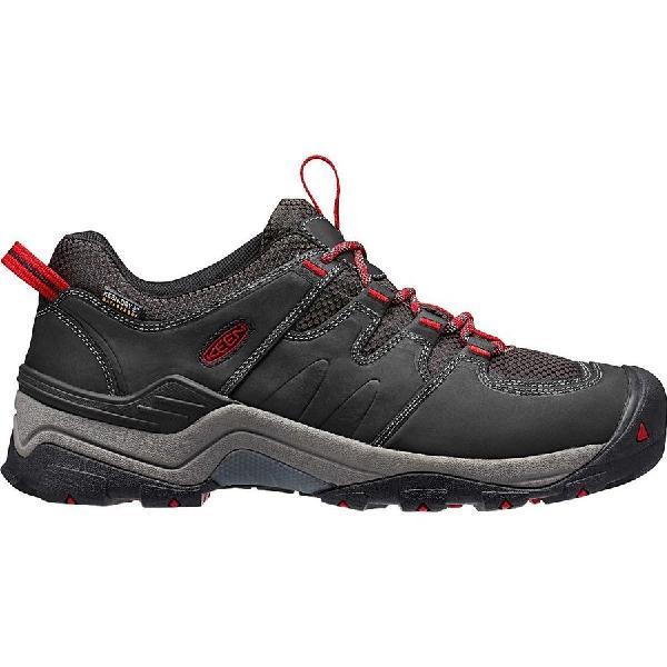 (取寄)キーン メンズ ギプス 2 ハイキングシューズ KEEN Men's Gypsum II Hiking Shoe Black/Tango