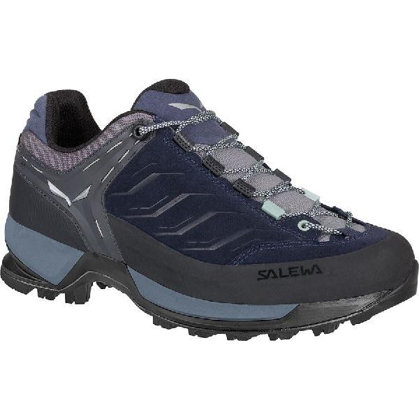 (取寄)サレワ レディース マウンテン トレーナー ハイキングシューズ Salewa Women Mountain Trainer Hiking Shoe Premium Navy/Subtle Green